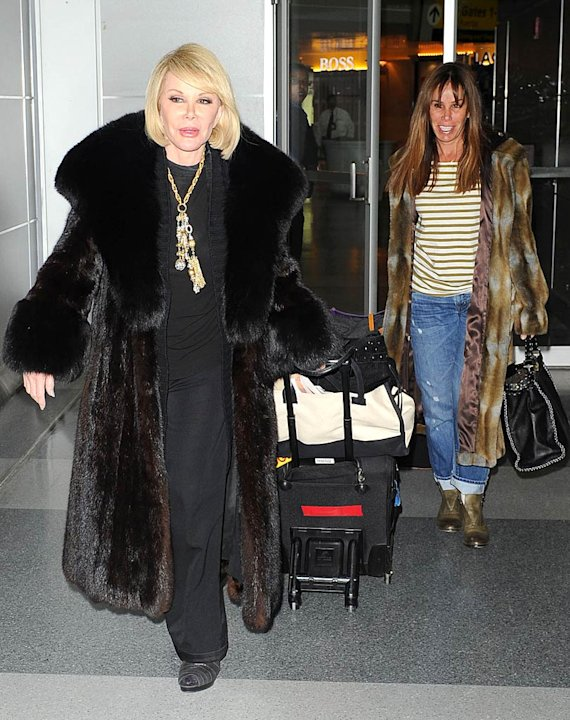 Joan Melissa Rivers JFK Airport