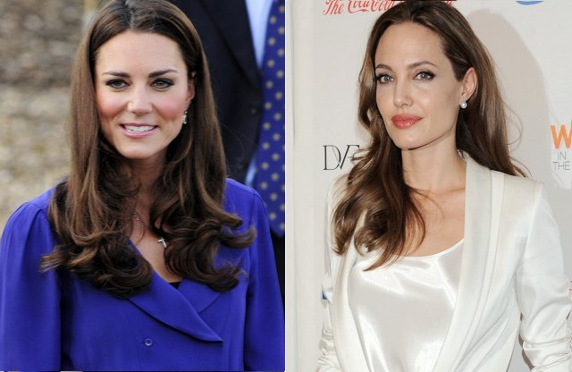 Kate Middleton y Angelina Jolie