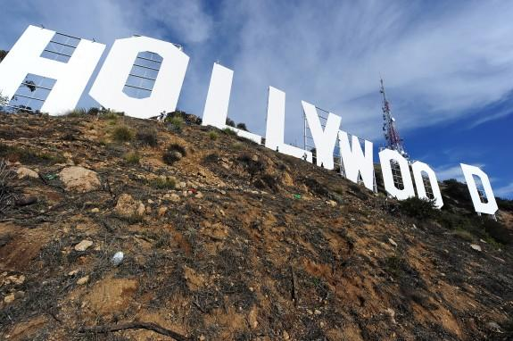 Hollywood Sign Face-Lift Complete