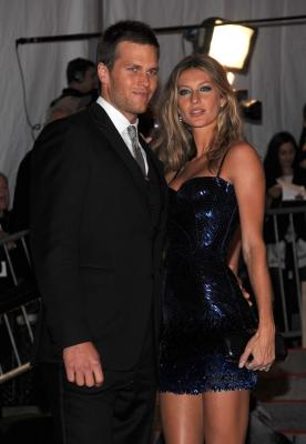 Tom Brady and Gisele Bundchen at the New York Met Costume Institute Gala on May 4, 2009 -- Getty Images