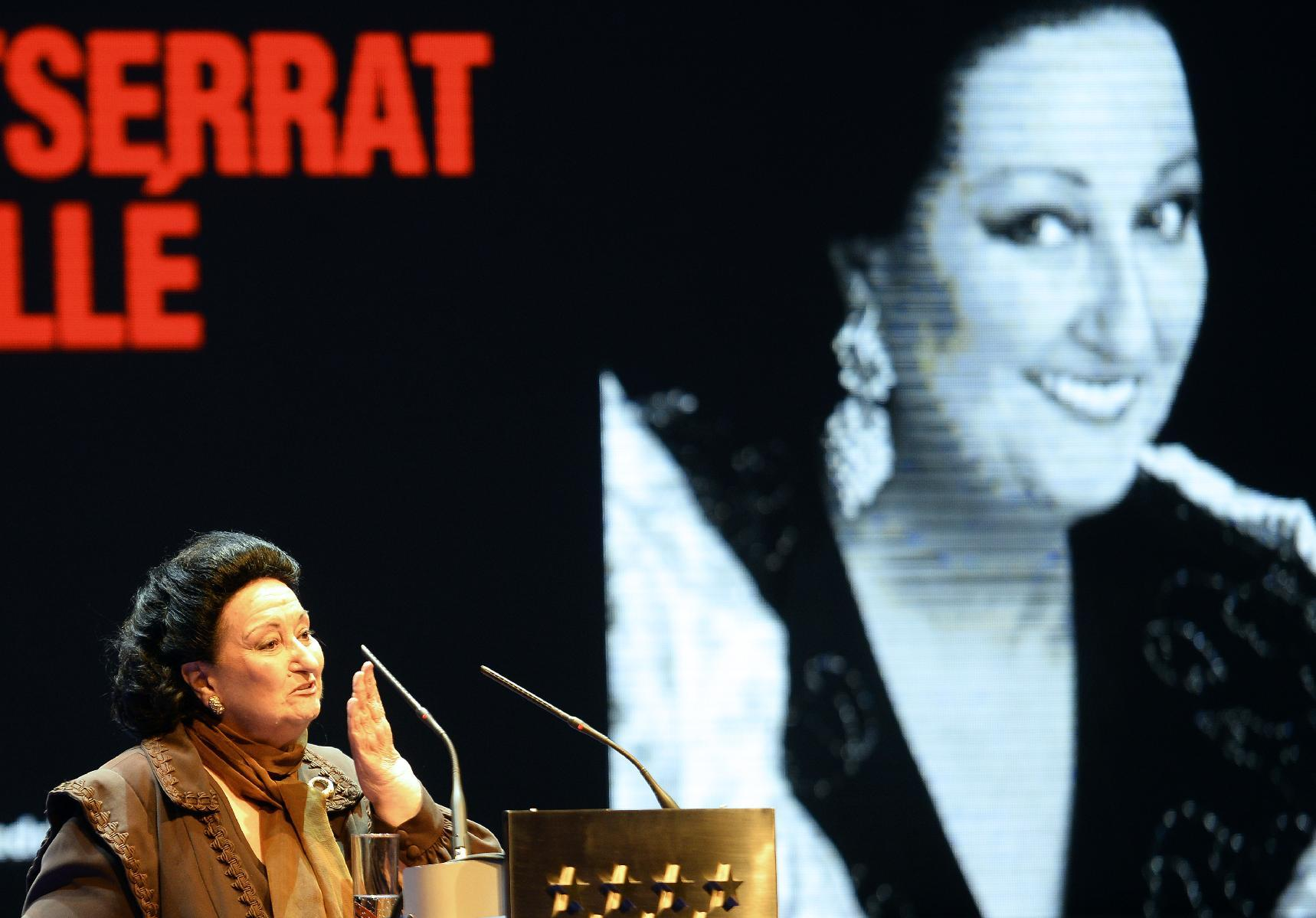 Montserrat Caballe agrees to fine for tax evasion