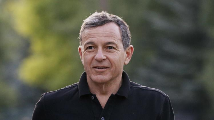 Robert Iger, CEO of The Walt Disney Company, arrives for the third day of the Allen and Co. media conference in Sun Valley
