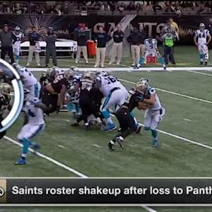 New Orleans Saints shakeup roster after loss to Carolina Panthers