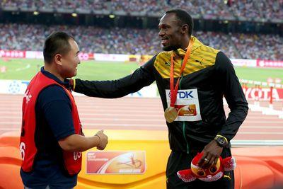 Cameraman who took out Usain Bolt is very sorry and ready to go back to work
