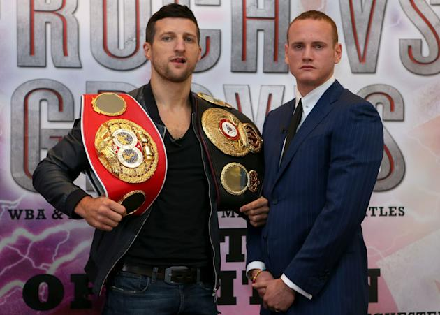 Boxing - Carl Froch v George Groves Press Conference - Radisson Blu Edwardian Hotel