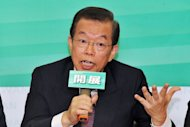 Former premier Frank Hsieh of the opposition Democratic Progressive Party (DPP) announces plans to visit China -- a trip which would make him the most senior politician from the China-sceptic opposition party to visit the mainland
