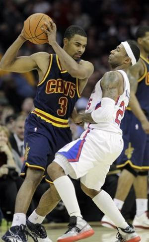 Sessions scores 24, Cavs top Clippers 99-92