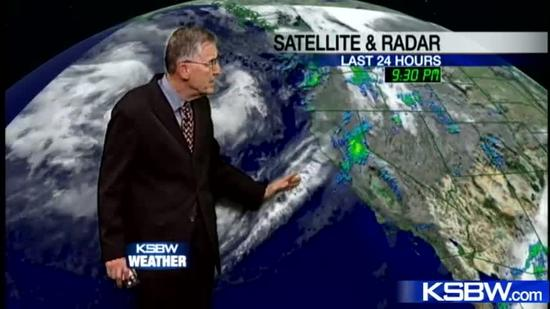 Watch your Sunday KSBW weather forecast 11.18.12