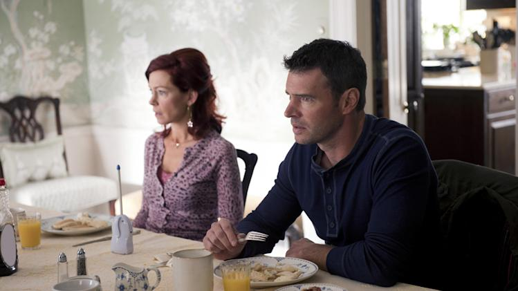 Carrie Preston and Scott Foley