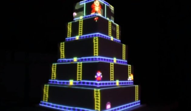 video-game themed wedding  Then you   ll need an appropriate cake    Video Game Wedding Cake