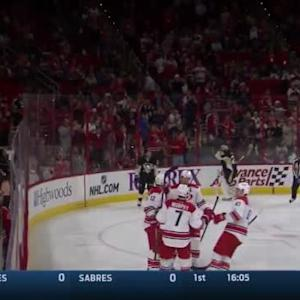 Eric Staal Goal on Marc-Andre Fleury (05:05/1st)
