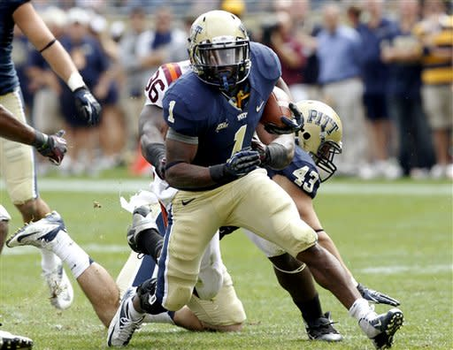 Pitt surprises No. 13 Virginia Tech 35-17