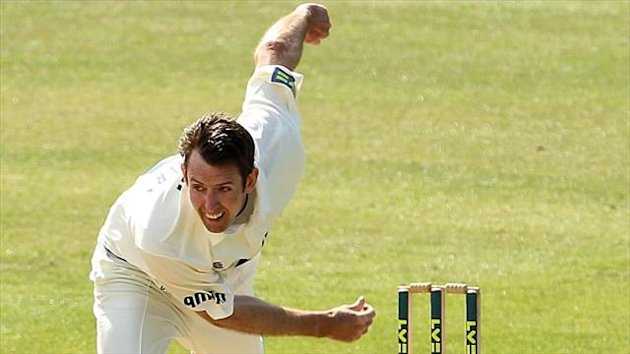 Essex's David Masters has made things tough for Hampshire