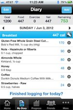 MyFitnessPal is a social calorie counter and nutrition info data center