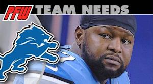 Detroit Lions: 2013 team needs