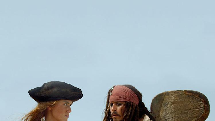 Pirates of the Caribbean Dead Man's Chest 2006 Walt Disney Pictures Keira KNighley Johnny Depp