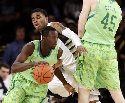 Notre Dame beats Marquette to reach Big East semis