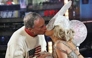 Mayor Bloomberg Kissed Lady Gaga and the World Didn't End