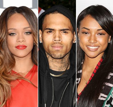 Chris Brown Partied With Karrueche Tran Night Before Rihanna Ignored Him