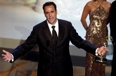 Brad Garrett Best Supporting Actor in a Comedy Everybody Loves Raymond Emmy Awards - 9/22/2002