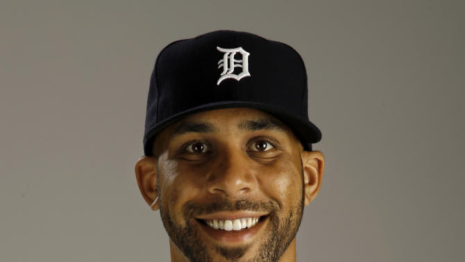 FILE - This is a 2015 file photo showing David Price of the Detroit Tigers baseball team. Toronto acquired All-Star left-hander David Price from the Detroit Tigers on Thursday, July 30, 2015, the second major move in less than a week by the Blue Jays as they chase their first postseason appearance since 1993. (AP Photo/Gene J. Puskar, File)