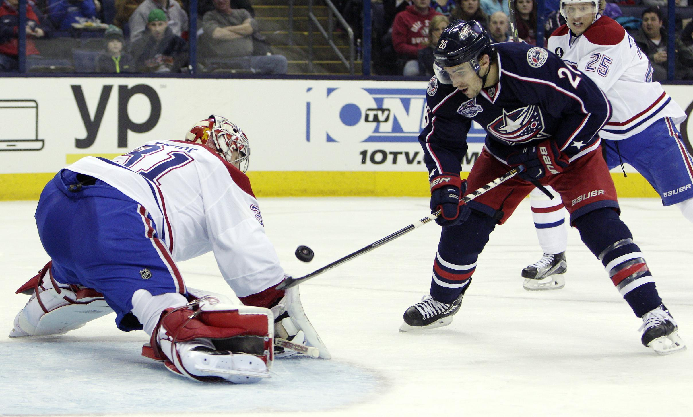 Price, Subban help Canadiens beat Blue Jackets 5-2