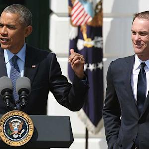 President Obama honors Kevin Harvick