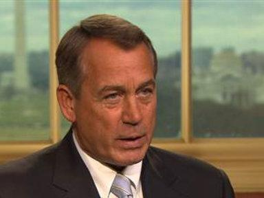 Boehner: We've Run Out of Road to Kick the Can Down