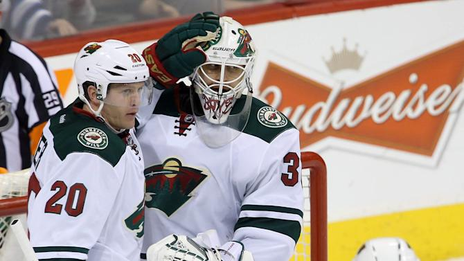 Coyle, Bryzgalov lead Wild past Jets 1-0