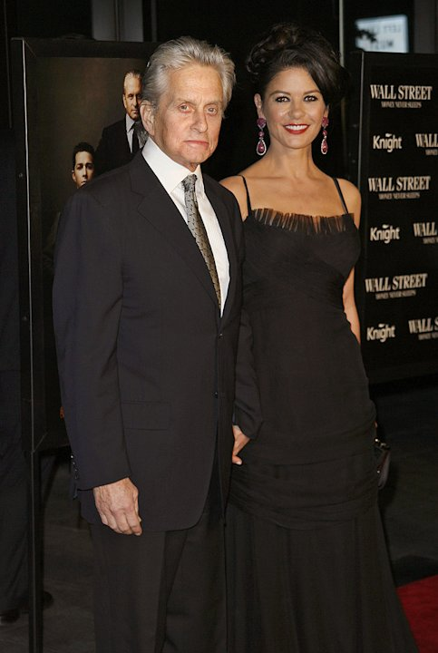 Wall Street Money Never Sleeps NYC Premiere 2010 Michael Douglas Catherine Zeta Jones