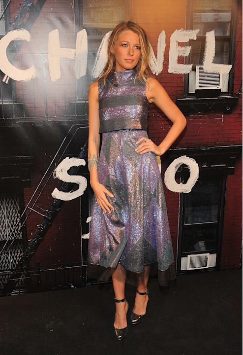 Blake Lively at Chanel's Fashion's Night Out party
