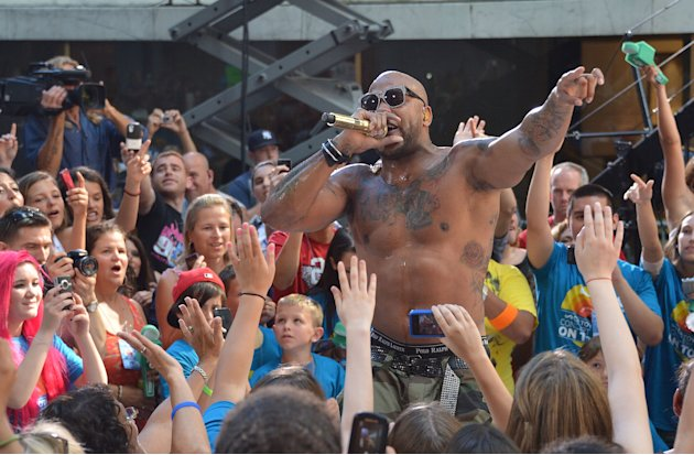 Flo Rida Performs On NBC's