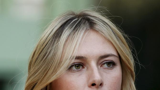Maria Sharapova of Russia attends the Taste Festival at the Grand Palais in Paris