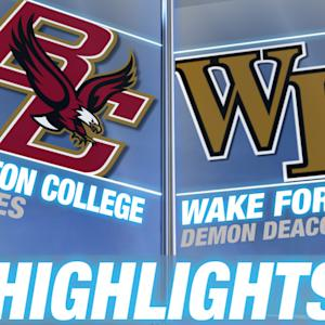 Boston College vs Wake Forest | 2015 ACC Women's Tournament Highlights