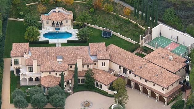 Barry Bonds' home