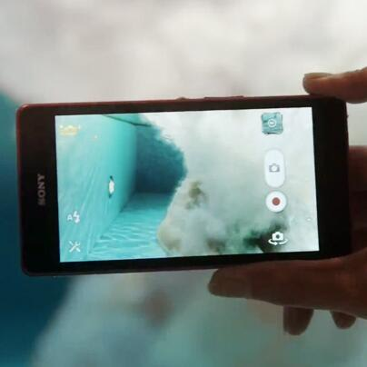 sony xperia z waterproof phone