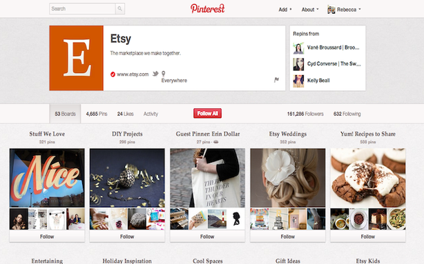Pinterest Takes a Step Towards Making Money by Inviting Businesses to Join