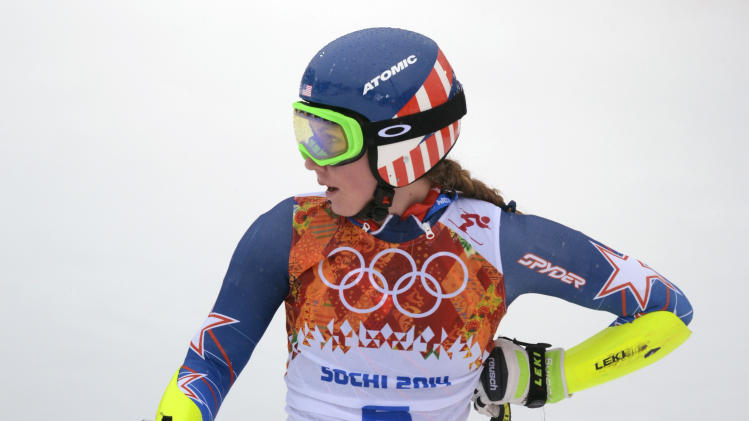 Olympics: Alpine Skiing-Ladies' Giant Slalom