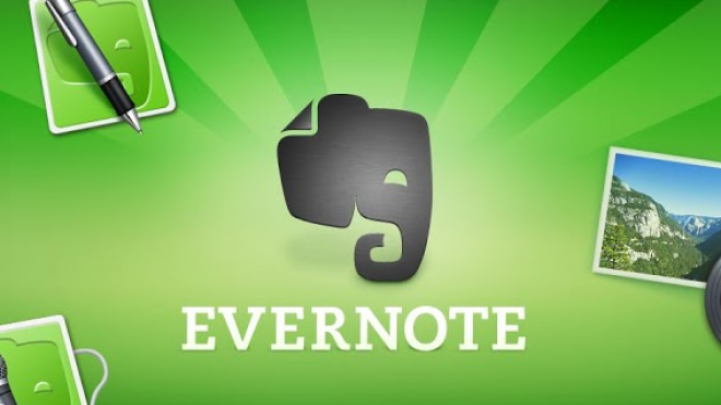 "Google says Evernote allows you to turn your Android device ""into an extension of your brain."""