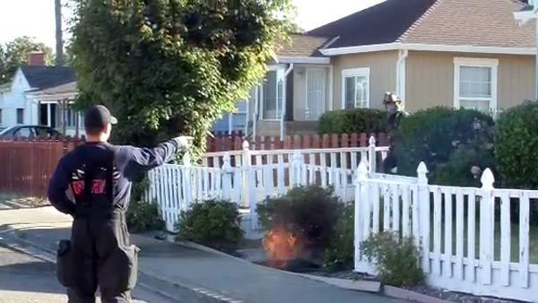 Vault fire in Vallejo knocks out power to homes