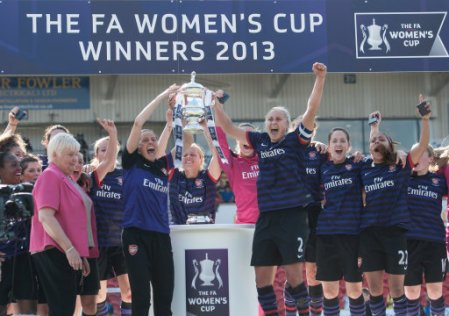 Soccer - Women's FA Cup - Final - Arsenal LFC v Bristol Academy LFC - Keepmoat Stadium