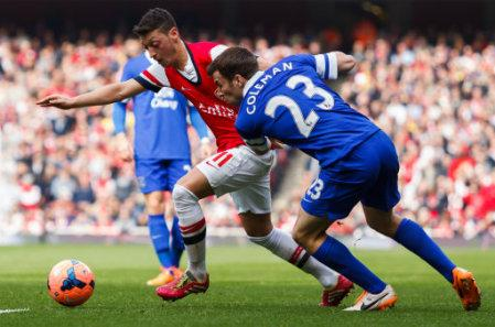 Soccer - FA Cup - Sixth Round - Arsenal v Everton - Emirates Stadium