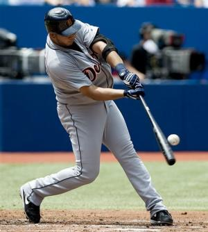 Peralta homers twice as Tigers beat Blue Jays
