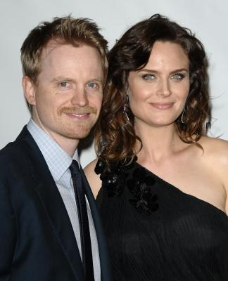 David Hornsby and Emily Deschanel attend the Humane Society's 25th annual Genesis Awards at the Hyatt Regency Century Plaza in Century City, Calif. on March 19, 2011 -- Getty Premium