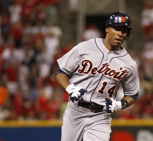 Jackson, Tigers rally against Chapman to beat Reds