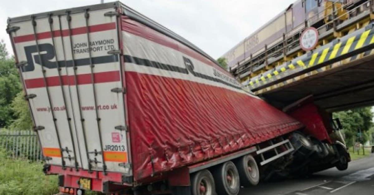 Bridge Meets Truck: 23 Not So Glamorous Tales