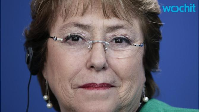 Chile Bachelet's Approval Rebounds After Half-year of Declines