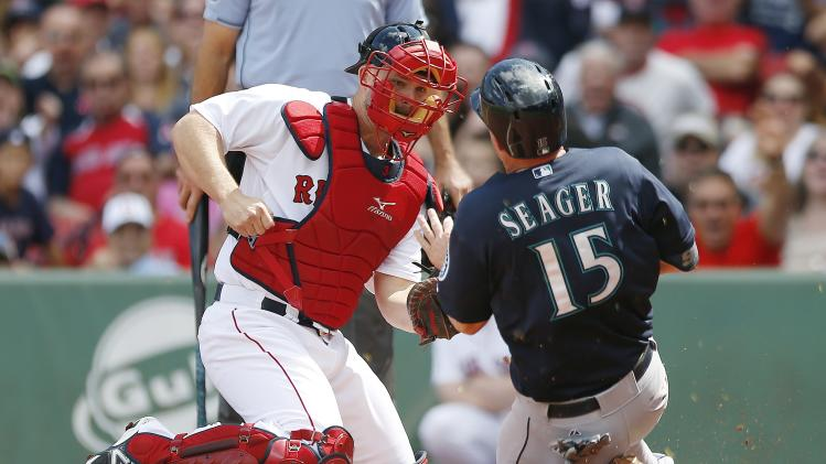 Ackley's 3-run HR sends Mariners past Red Sox 7-3