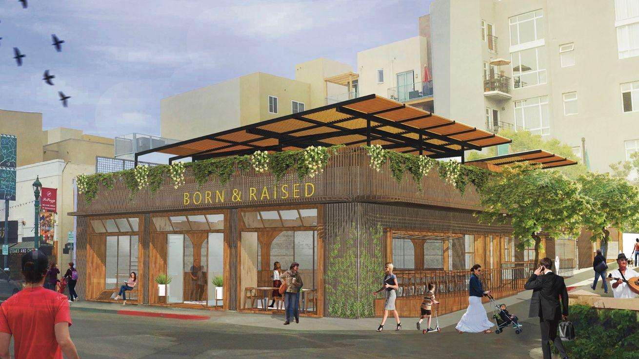 Little Italy Scores Two-Story, Midcentury-Inspired Steakhouse & Rooftop Garden