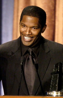 Jamie Foxx Breakthrough Actor of the Year 2004 Hollywood Film Awards Presentation Bevery Hills, CA - 10/18/2004